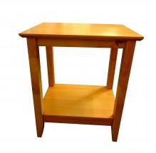 Hampton lamp table natural oak  w500cm x h600cm x d400cm