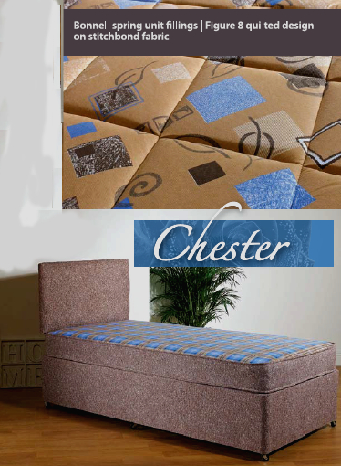 chester single bed